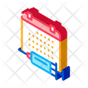 Injection Schedule Outlie Icon