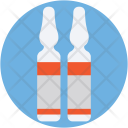 Vial Injection Medicine Icon