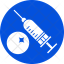 Injection With Vaccine Injecting Injection Icon