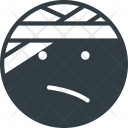 Injured Emoji Face Icon