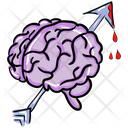 Brain Injured Brain Neural System Icon