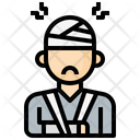 Injured Person Icon