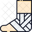 Injury Foot Injury Leg Injury Icon