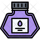 Ink Bottle Calligraphy Icon
