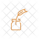 Ink Ink Pot Feather Icon