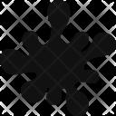 Ink Spot Splatter Icon