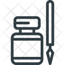 Ink Inkpot Pen Icon