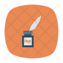 Ink Pen Feather Icon