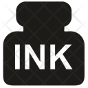 Ink Bottle Accessories Icon