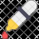 Ink Dropper Color Dropper Pipette Icon