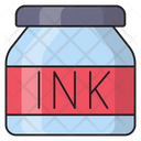 Ink Pot Stationary Icon