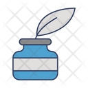 Ink Pot Quill Ink Icon