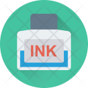Inkpot Ink Calligraphy Icon