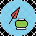 Inkpot Pen Write Icon