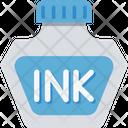 Inkpot Vintage Writing Calligraphy Icon