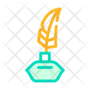 Feather Ink Stuff Icon