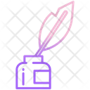 Inkwell Ink Inkpot Icon