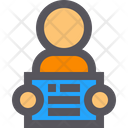 Inmate Arrested Prisoner Icon