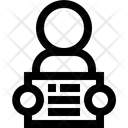 Inmate Arrested Prisoner Icon