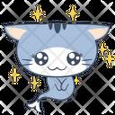 Puppy Eye Smile Cat Icon