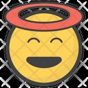 Innocent Emoji Icon