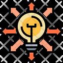 Innovate Creative Unique Icon