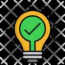 Innovation Creativity Energy Icon
