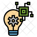 Innovation Idea Process Icon