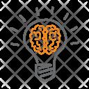 Brain Idea Think Icon