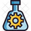 Innovation Chemical Process Manufacturing Management Icon
