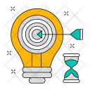 Innovation Target Setting Icon