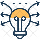 Bulb Idea Light Icon