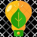 Lightbulb Innovation Green Icon