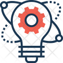 Innovation Bulb Idea Icon
