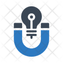 Magnet Attract Idea Icon