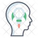 Thinking Mind Creative Idea Brain Idea Icon