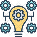 Innovation Bulb Concept Icon
