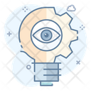 Artificial Intelligence Innovation Creative Eye Icon