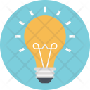 Idea Bulb Light Icon