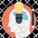 Idea Pencil Creativity Icon