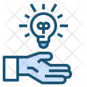 Hand Idea Creative Icon