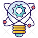 Innovation Idea Development Idea Generation Icon