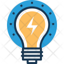 Idea Bulb Innovation Icon