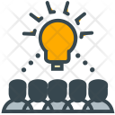 Crowd Source Innovation Icon