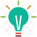 Business Light Bulb Icon