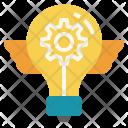 Innovation Idea Futuristic Icon