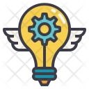 Innovation Idea Futuristic Icon