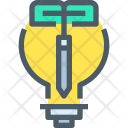 Idea Growth Innovation Icon