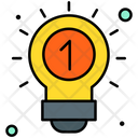 Innovation Idea Bulb Icon