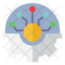 Innovation Information Technology Gear Icon